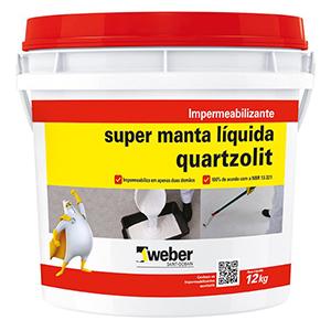 Impermeabilizante Super Manta Liquida Quartzolit
